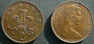 """Rare 2p Coin Collection """"New Pence"""" 2p 1971"""