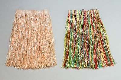 FANCY DRESS Grass Skirt. Multi Adult Budget