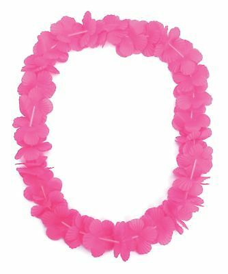 FANCY DRESS Hot Pink Hawaiian Lei