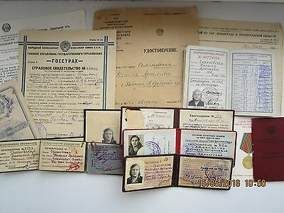 Family Archives. Woman - high social status in USSR. Nomenclature. Rare