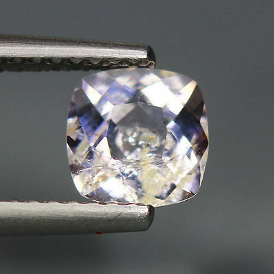 0.85 Cts_Simmering Ultra Nice Gemstone_100 % Natural Light Purple Scapolite