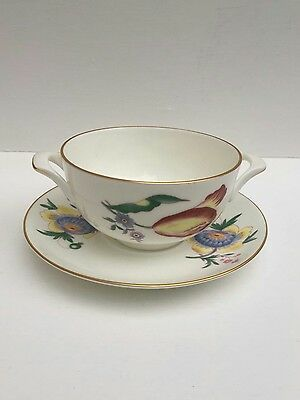 Coalport Bone. China Made In England Cream Soups Cup&saucer