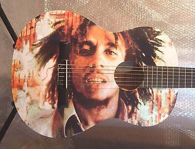 Bob Marley - Cool Amazing Guitar Full Size Classical Guitar