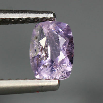 0.60 Cts_Simmering Ultra Nice Gemstone_100 % Natural Light Purple Scapolite