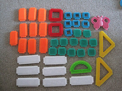 Stickle bricks 42 pieces including butterfly