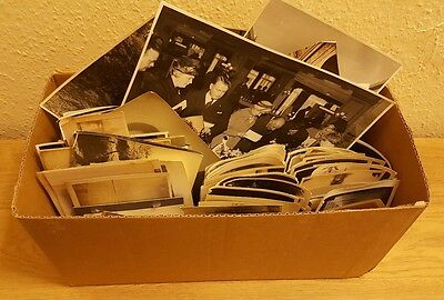500 Approx Old Photos Lot BW Vintage Photographs Snapshots Black White antique