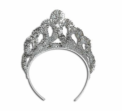 FANCY DRESS Silver Mermaid Style Tiara Adult