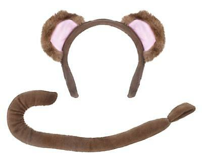 FANCY DRESS Monkey Tail & Ears