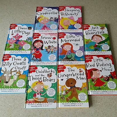 10 x Reading with Phonic Books. Children's Learn to Read Books. Brand New.