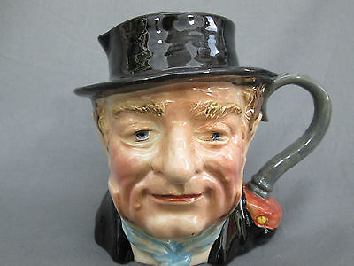 Vintage Beswick Captain Cuttle Character Jug 1120