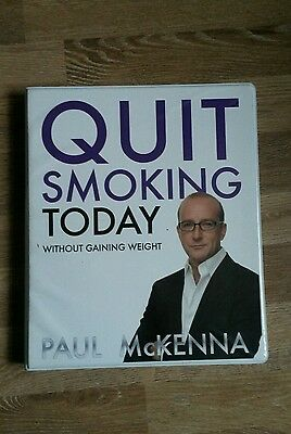 Paul Mckenna Quit Smoking Today Without Gaining Weight 4cd mind conditioning set