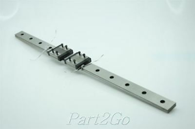 IKO Precision Linear Rail Ball Slide Assembly W/ 2 CARTS  L: 480mm LWLF24 B