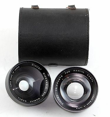 187275 Mamiya 528TL Telephoto and Wide Angle Lens Attachments