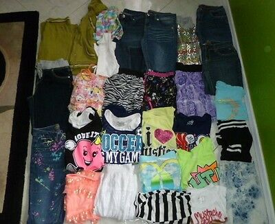 Girls Clothes Lot Size 16 Justice Carters Bcbg Knitworks Girls Takeout Poise