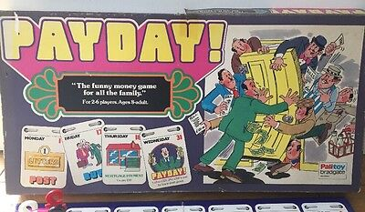Ultra Rare Edition Vintage PAYDAY board game by Parker Palitoy - complete 1976
