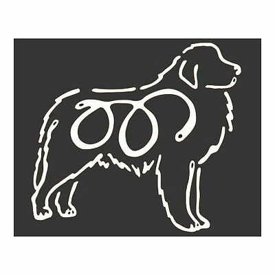 Great Pyrenees Dog K-Lines Dog Car Window Tattoo Decal Sticker
