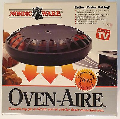 New Old Stock Vintage Nordic Ware Oven-Aire Convection Oven Fan Oven