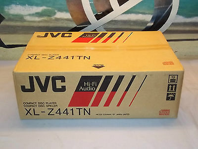 JVC XL-Z441TN CD Player Compact Disc Player New In Box