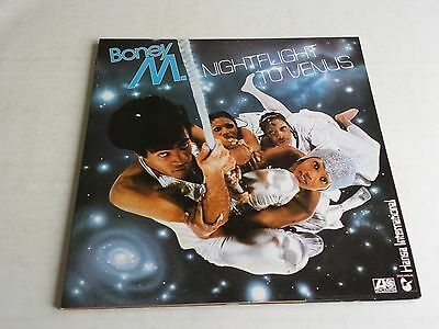 Boney M Nightflight To Venus Lp 1978 Atlantic K50498 Original Uk Near Mint