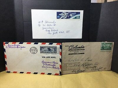 USA STAMPS ON COVERS 1929 - 48 & Other. Stamp & cover Interest! Ref 17/3404