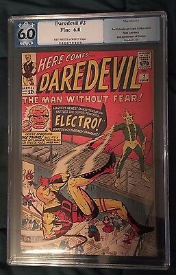 Daredevil #2 (1964) PGX (NOT CGC) 6.0 - Stains on Back Cover