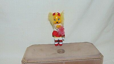 "Vintage Plastic Get Along Gang Dotty Dog Clip On  4 1/2"" Tall"