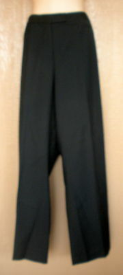 Merona 16 Dark Charcoal Gray Classic Fit Midrise Womens Dress Pants