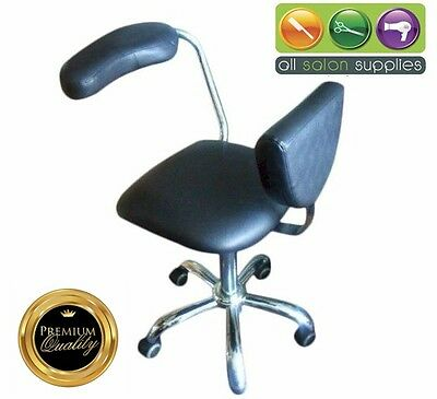 Gas Lift Manicure chair with arm rest cheap clearance salon chair chatswood