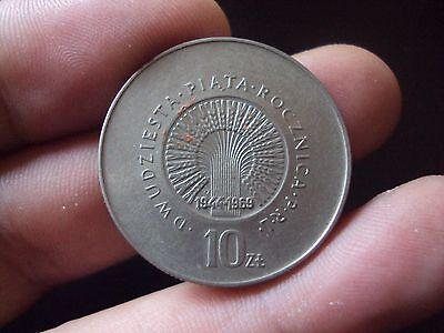 Poland 10 Zlotych 1969 Unc Coin A6