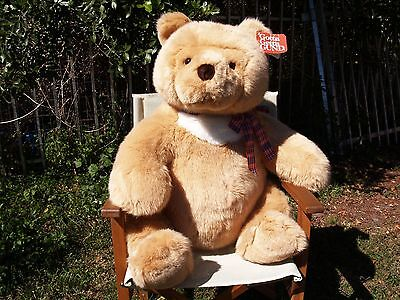 "Ultra Rare - Vintage Gund - Giant Huggy Bear - 28"" - #2223 - 1991- New- All Tags"