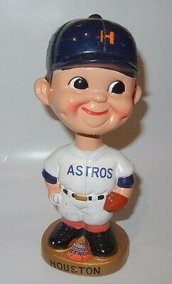 Vintage Houston Astros Bobblehead Gold Base With Logo Sports Specialties Japan