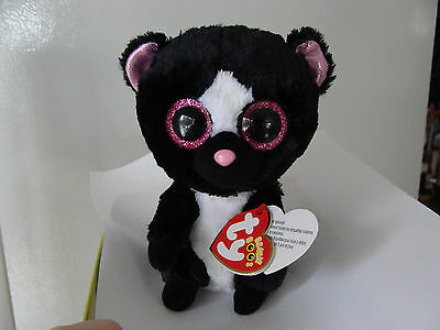 Ty Beanie Boos Flora The Skunk New Mint Tags