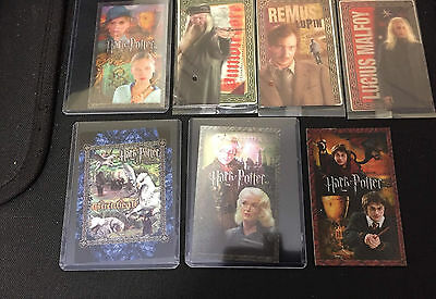 LOT OF PROMO TRADING cards card HARRY POTTER Lenticular Wholesale
