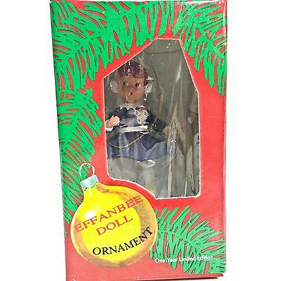 "Effanbee Doll Patsy Winter Ice Skates #F080 Christmas Ornament 3.5"" Figurine"