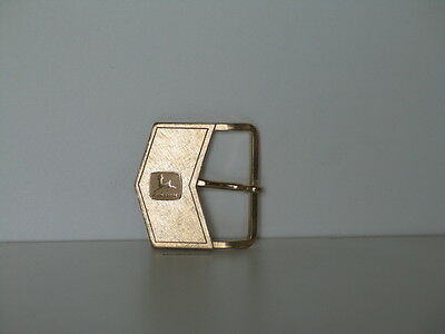 "John Deere Florentine Dress ""Arrow"" Buckle- 1979 - Gold Finish"