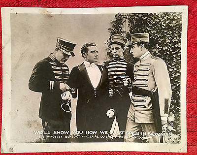 The Human Target 1918 silent lobby card Kingsley Benedict
