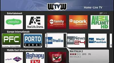 WOW TV HD Live Channels 400 Private Channel for Android TV Box and Roku