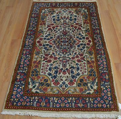 2'7x5'1 Nice Colors Authentic Persian Kerman Hand Knotted Oriental Wool Area Rug