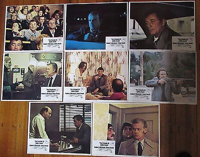 The Friends of Eddie Coyle (1973) - USA Lobby Cards (full set) / Robert Mitchum