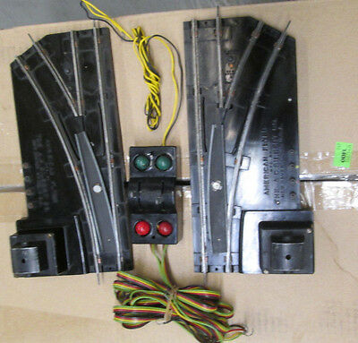 American Flyer #720A REMOTE CONTROL SWITCHES (1) PAIR COMPLETE FOR YOUR LAYOUT!