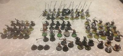 Lord Of The Rings Lotr Warhammer Uruk Hai Army Lot Miniatures Games Workshop