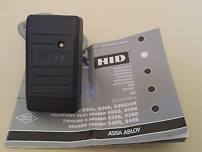 HID Proxpoint card reader for tecom or concept door