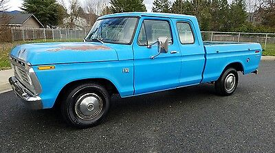 1974 Ford F-100  1974 Ford F100 FIRST YEAR SUPERCAB SHORT BED! NO RESERVE!!
