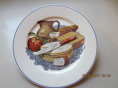 PILLIVUYT Cheese Plate  decorated plate