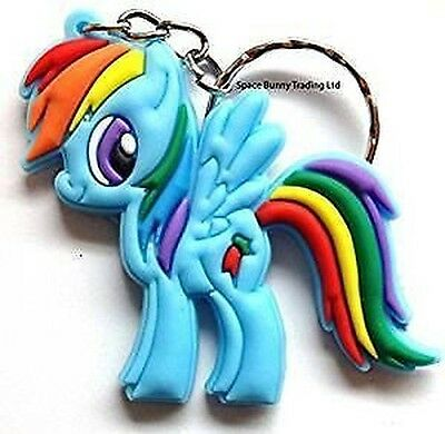 Mio Piccolo Pony KEY Catena portachiavi Rainbow Dash gomma anello PHONE BORSA