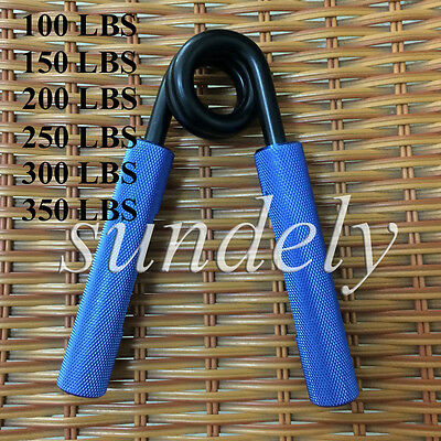 Hi-Q Blue Metal Grip Hand Grippers Strengthener Muscle Forearm Grippers Palm