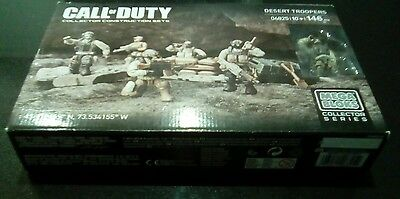 Call of Duty Desert Troopers, collector construction set Mega Bloks series 06825