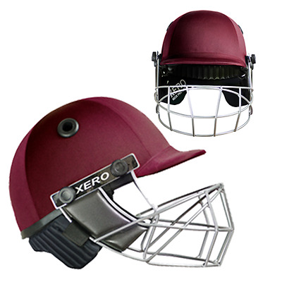 Hunts County Cricket Helmet XERO inc Neck Guard