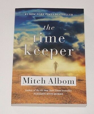 The Time Keeper by Mitch Albom (2013, Paperback) NEW