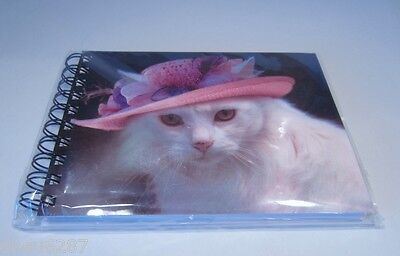 Blanca White Cat Spiral Notebook by Aspen Light Imaging